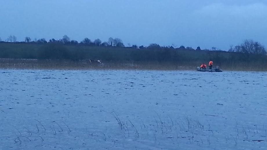 Civil Defence rescue Horses Trapped in the River